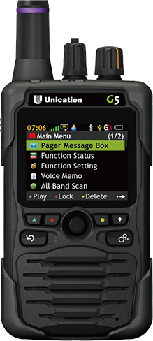 Unication G5 Pager
